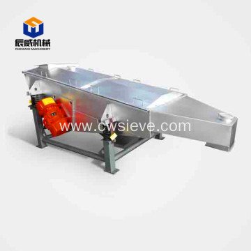 fully enclosed linear vibrating screen for sugar